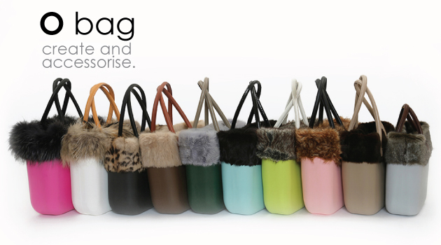 6ab72f62fa O bag Eco-fur available in  eco- mink – dark and grey