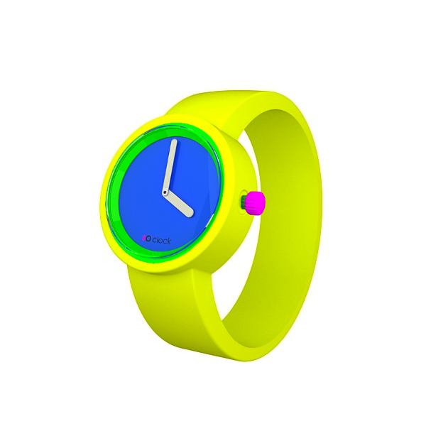 80s-Face-Fluo-Blue-Fluro-Yellow-Band