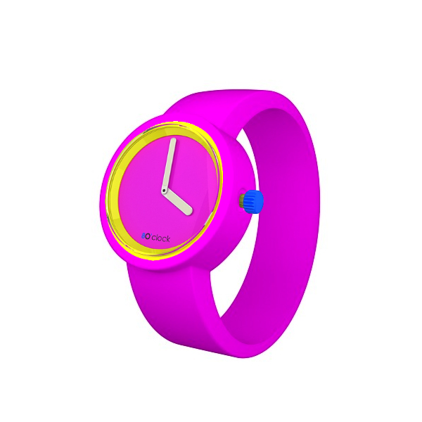 80s-Face-Fluo-Pink-Fluro-Pink-Band