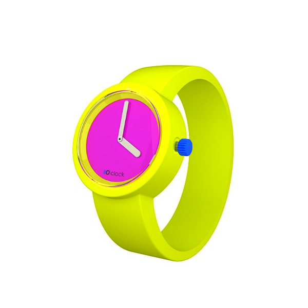 80s-Face-Fluo-Pink-Fluro-Yellow-Band