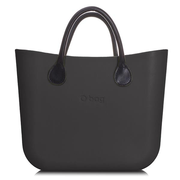 O Bag Mini Black Leather Black